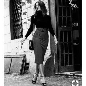 Business slim hights waist bodycon skirt